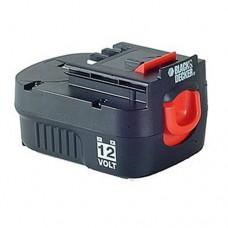 A12E Аккумуляторная батарея, 12,0 В 1,2 Aч NiCd (90548695) Black&Decker