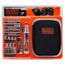 A7104 Набор отверток, 56 предметов Black&Decker