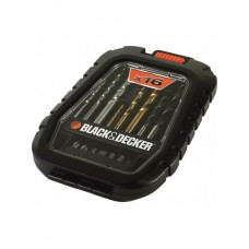 A7186 Набор бит и сверл, 16 предметов Black&Decker
