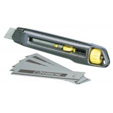 """0-10-018 Нож с лезвием 18 мм с отламывающимися сегментами """"INTERLOCK"""" STANLEY"""
