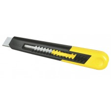 """0-10-150 Нож с лезвием 9,5 мм с отламывающимися сегментами """"SM"""" STANLEY"""
