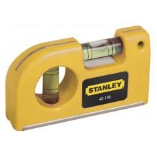0-42-130 Уровень пузырьковый карманный, 87 мм STANLEY