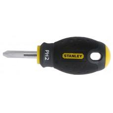 """0-65-407 Отвертка PH2x30 мм """"FATMAX STUBBY"""" STANLEY"""