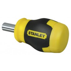 "0-66-357 Отвертка ""MULTIBIT STUBBY"" в комплекте с 6-ю битами STANLEY"