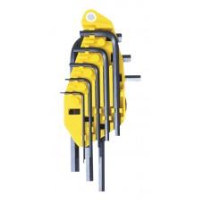 0-69-252 Набор торцевых шестигранных Г-образных дюймовых ключей , 8 шт. STANLEY