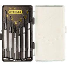 """1-66-039 Набор отверток """"WATCHMAKER"""" для точной механики, 6 шт. STANLEY"""