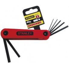 4-69-261 Набор шестигранных складных ключей 1,5-6 мм, 7 шт. STANLEY