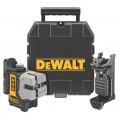 DW089K Самовыравнивающийся 3-х плоскостной лазерный уровень (горизонталь, вертикаль, боковая линия) DeWALT