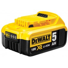 DCB184 Аккумуляторная Li-Ion батарея, 18,0 В, 5,0 Ah DeWALT