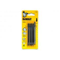 DT2165 Пилки для лобзика по дереву, 5 шт. DeWALT
