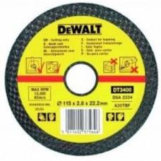 DT3430 Диск отрезной по металлу, 230х3,0х22,2 мм DeWALT