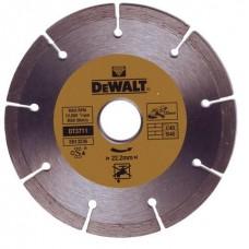 DT3701 Диск алмазный сегментный, 115х22 мм DeWALT