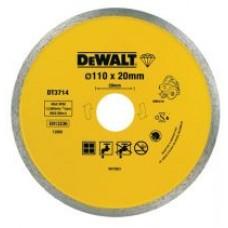 DT3714 Диск алмазный сплошной, 110х20 мм DeWALT