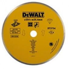 DT3734 Диск алмазный сплошной, 254х25,4 мм DeWALT