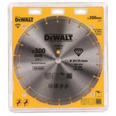 DT40212 Диск алмазный для бензорезов и резчиков универсальный, 300х25,4 мм DeWALT