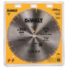 DT40213 Диск алмазный для бензорезов и резчиков универсальный, 350х25,4 мм DeWALT
