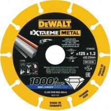 DT40252 Диск алмазный по металлу для УШМ, 125 мм DeWALT