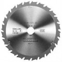DT4202 Диск пильный, 250х30 мм 24 зуба по дереву DeWALT