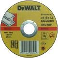 DT42200 Диск отрезной по металлу прямой, 115х1,6х22,2 мм DeWALT