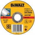 DT42240 Диск отрезной по металлу, 115х1,0х22,2 мм DeWALT