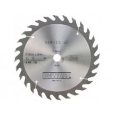 DT4226 Диск пильный, 250х30 мм 30 зубов по дереву DeWALT