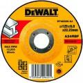 DT42320 Диск обдирочный по металлу вогнутый, 125х6,0х22,2 мм DeWALT