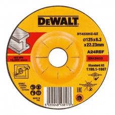 DT42320Z Диск обдирочный по металлу вогнутый, 125х6,3х22,2 мм DeWALT