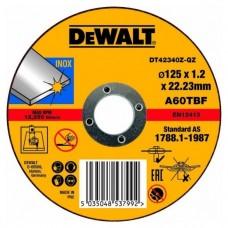 DT42340Z Диск отрезной по металлу серия INDUSTRIAL, 125х1,2х22,2 мм DeWALT