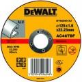 DT42360 Диск отрезной по алюминию прямой, 125х1,6х22,2 мм DeWALT