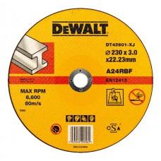DT42601Z Диск отрезной по металлу серия INDUSTRIAL, 230х3,0х22,2 мм DeWALT