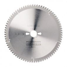 DT4280 Диск пильный, 260х30 мм 80 зубов DeWALT