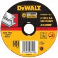 DT43301 Диск отрезной по металлу EXTREME прямой, 125х1,6х22,2 мм DeWALT