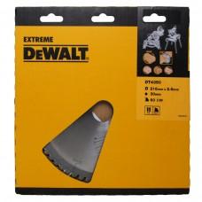 DT4350 Диск пильный, 216х30 мм 60 зубов по дереву DeWALT