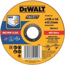 DT43902 Диск отрезной по металлу прямой, 125х1,0х22,2 мм DeWALT